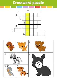 Kreuzworträtsel.
