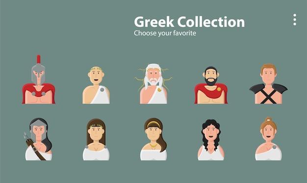 Krieger legende schild rüstung schwert gott griechisch vintage olympische illustration hintergrund charakter