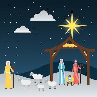 Krippe epiphanie weihnachten