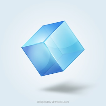 Kristallwürfel