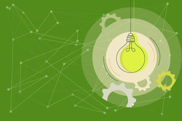 Kritisches logisches denkkonzept abstrakte helle ideen entwirft brainstorming-problemlösungen
