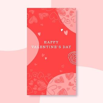 Kritzelte valentinstag instagram geschichte