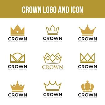 Kronenlogo und -symbol einstellen