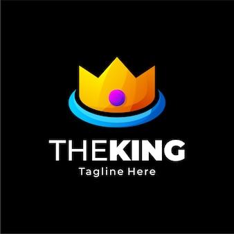 Kronenverlauf logo design