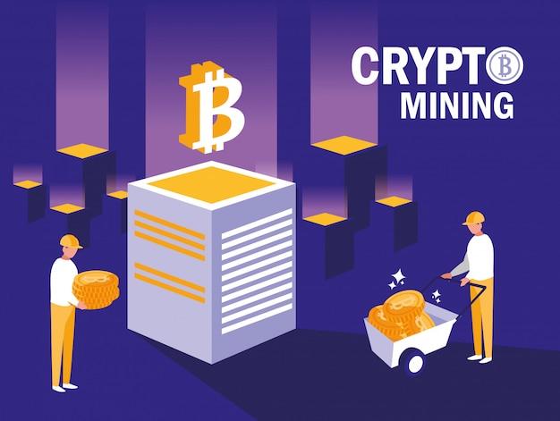 Krypto-mining-bitcoins für teamworker