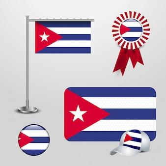 Kuba-landesflagge