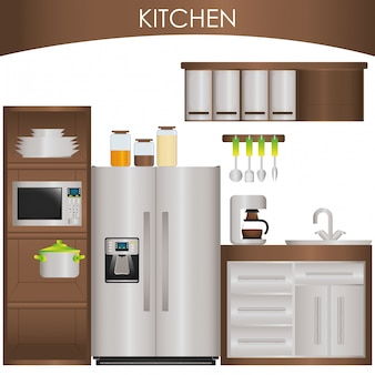 Küche liefert Design