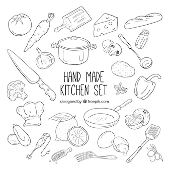 Küchenelemente Sammlung