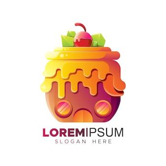 Kuchenhaus-logo-vorlage