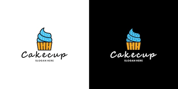 Kuchenladen online-shop logo design restaurant kulinarik