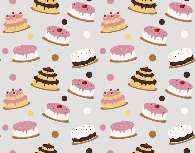 Kuchenmuster hintergrund