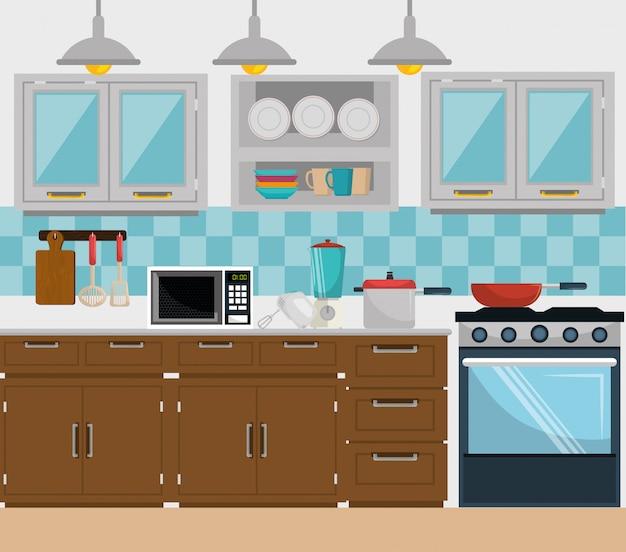 Küche und geschirr