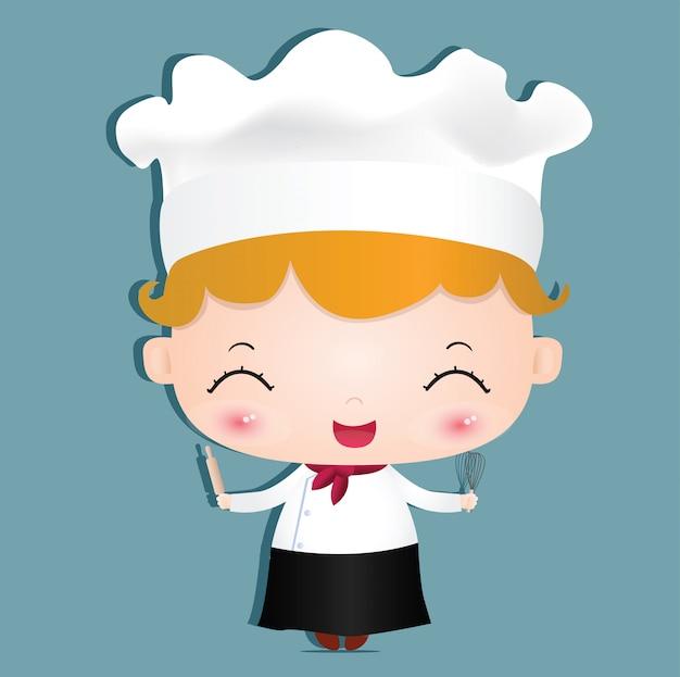 Küchenchef mädchen