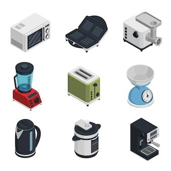 Küchengeräte-icons set