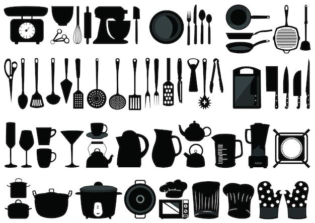 Küchenwerkzeug-vektoren
