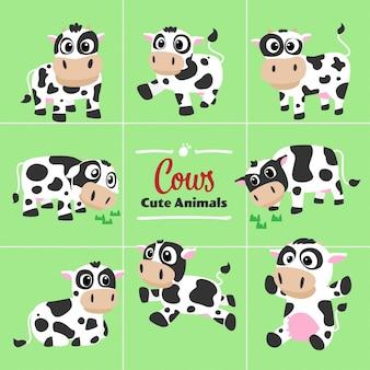 Kühe-cartoon
