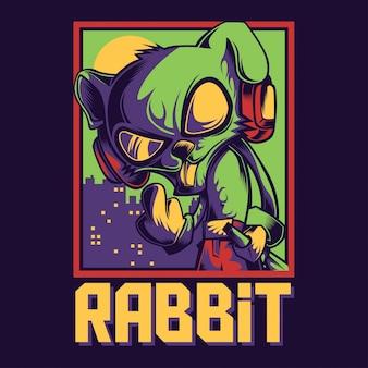Kühles kaninchen