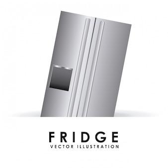 Kühlschrank einfaches element