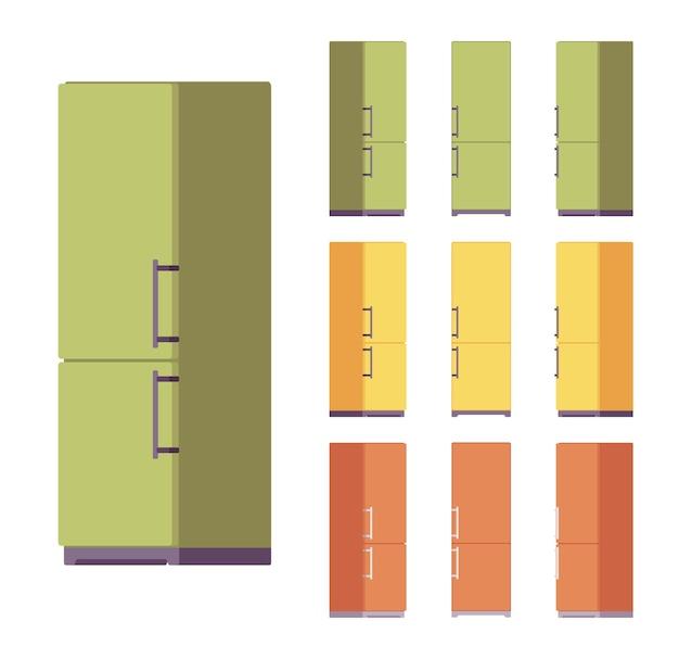 Kühlschrank-set, küchenausstattung