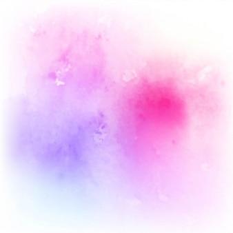 Künstlerische aquarell textur, intensiv rosa