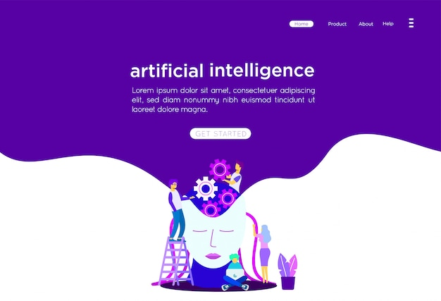 Künstliche intelligenz abbildung