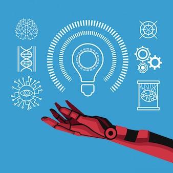 Künstliche intelligenz des roboters