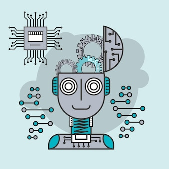 Künstliche intelligenz gehirn kreative innovation