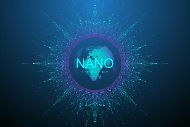 Künstliche intelligenz, virtuelle realität, bionik, robotik, globales netzwerk, mikroprozessor, nanoroboter.