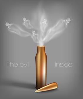 Kugel mit dämonen