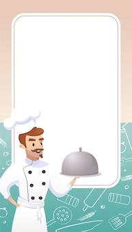 Kulinarisches konzept illustration restaurantgeschäft