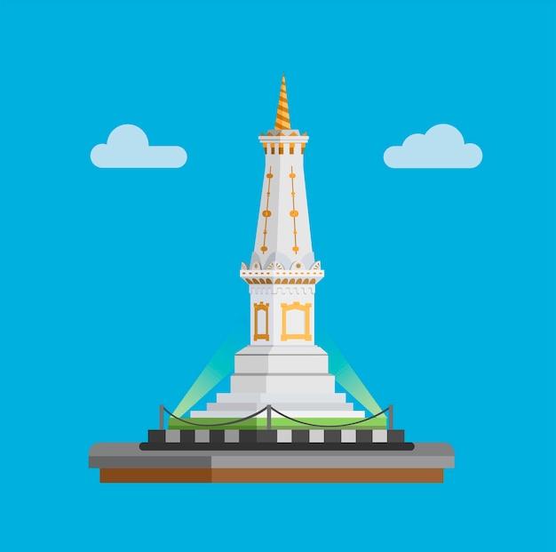 Kultiges indonesisches wahrzeichen