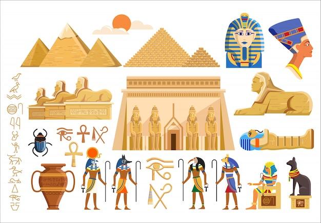 Kultursymbole des alten ägypten