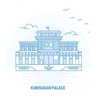 Kumsusan palace blue wahrzeichen
