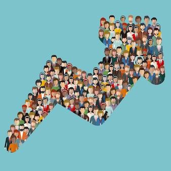 Kunden und kunden für das geschäft gewinnen