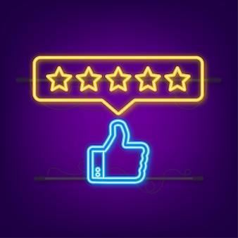 Kundenbewertung usability evaluation feedback rating system isometrisches konzept
