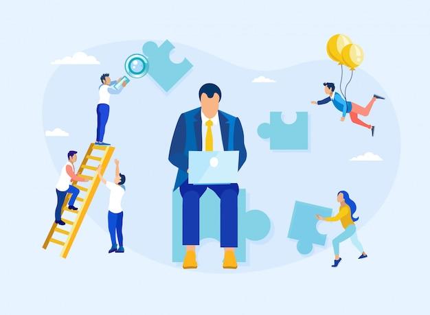 Kundenbeziehungsmanagement und führung