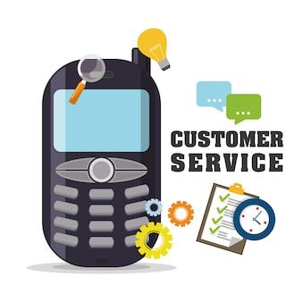 Kundendienst-symbole