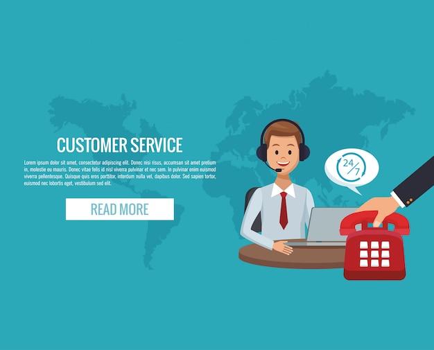Kundenservice-banner