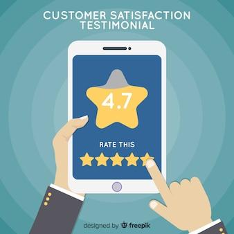 Kundenzufriedenheit konzept