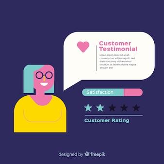Kundenzufriedenheit testimonial