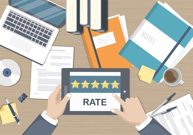 Kundenzufriedenheit und feedback
