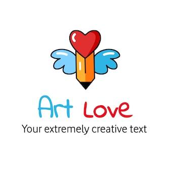 Kunst liebe hintergrund