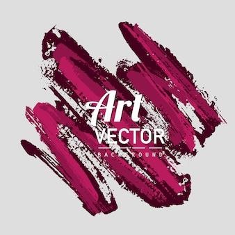 Kunst vektor aquarell pinsel hintergrund
