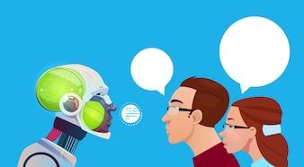 Künstliche Intelligenz People Communication