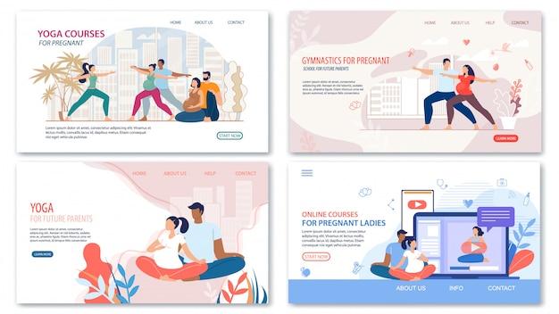 Kurse und lektionen für schwangere webseiten