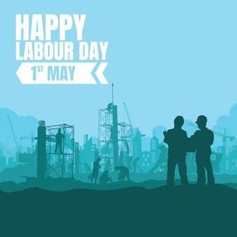 Labor day vektor-illustration.