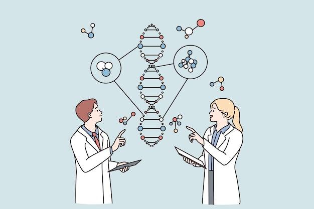 Laborforschungs- und gentechnikkonzept
