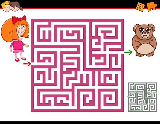 Labyrinth aktivität aufgabe