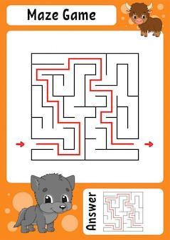 Labyrinth-spiel
