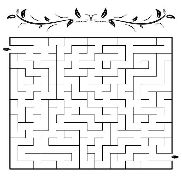 Labyrinthspiel.